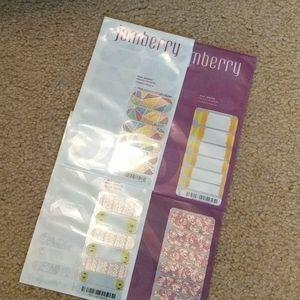Four Jamberry Nail Wraps